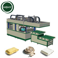 HGHY High Quality Low Cost Biodegradable Disposable Paper Lunch Box Pulp Molding Machine