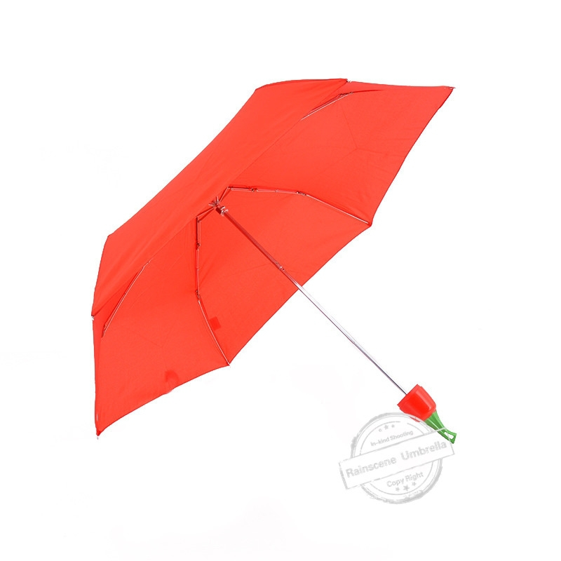 Creative Promotional 3 Fold Bottle Cap Umbrella