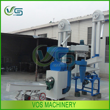Grain processing machinery combined rice mill plant with rice destoner machine and rice husker machinery