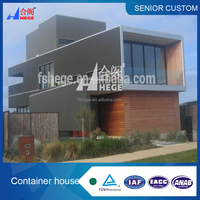 Flat packed container house ,sandwich panel insulation container home, 40ft container office