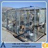 Fashionable new design best-selling pretty unique outdoor dog kennel/pet house/dog cage/run/carrier