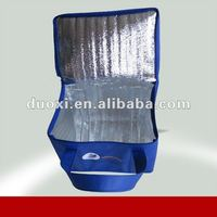 Non woven insulated cans/bottle cooler bag with zipper OEM manufacturer