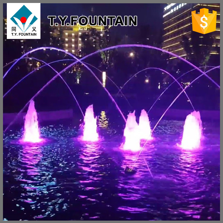 Garden Jumping Jets Water Fountain Outdoor for Decoration Use