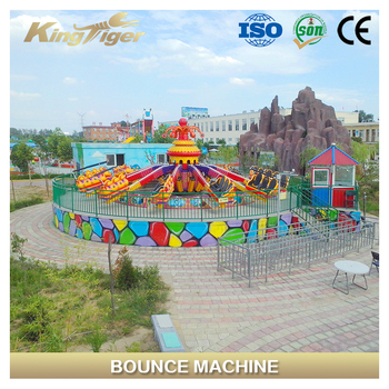 Popular machine in theme park crazy games bounce jumping machine