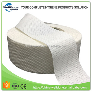 Sanitary Napkins Jumbo Roll Airlaid Sap Absorbent Paper with Manufacturer Price