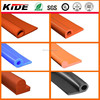 Extruded seals silicone rubber P shape extruded gaskets