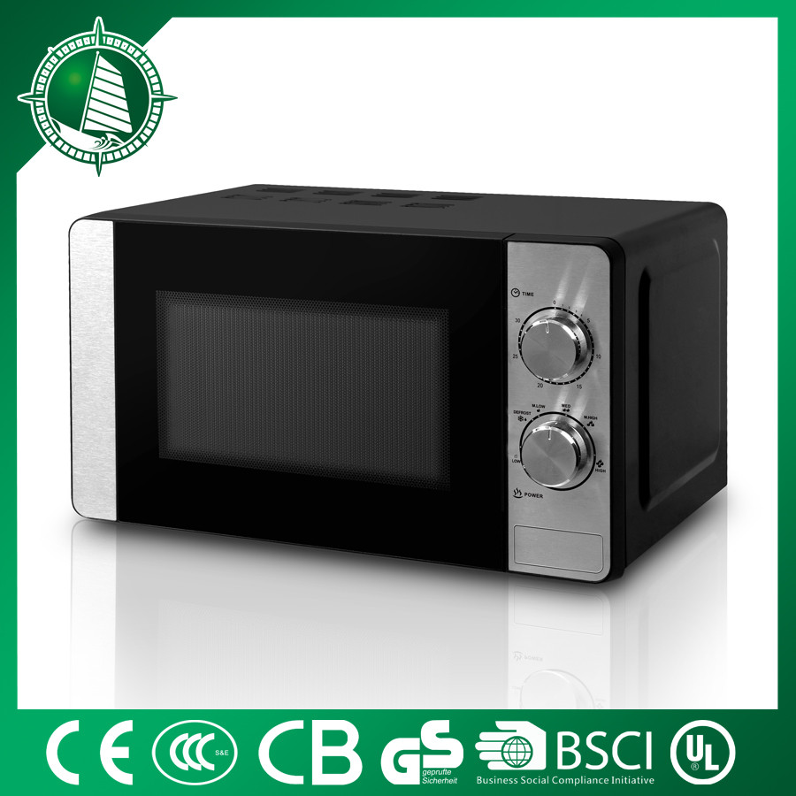 20L 700w red mini stainless digital limit switch car microwave oven with grill