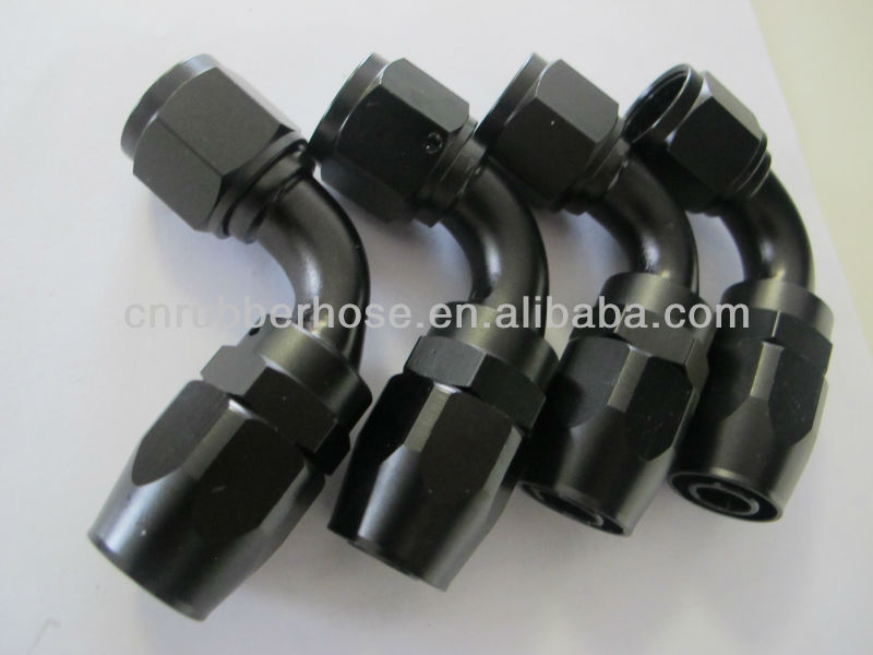 High quality An oil cooler hose fitting AN8 fitting AN6 fitting AN aluminum fitting