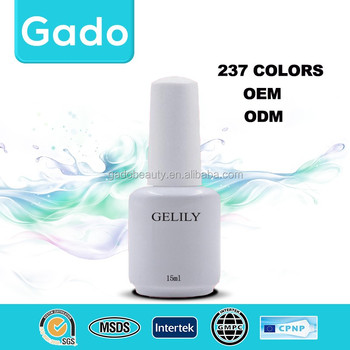 2016 Gado Sales promotion newest soak off Nail Uv Gel