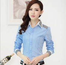 zm33340a women elegant shirts new design formal blouse for office lady