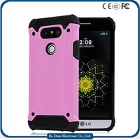 Custom new products arrival rugged strong TPU+PC protective cell phone case for LG G5