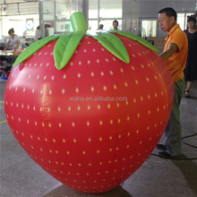 inflatable fruit model for advertising , giant inflatable promotion fruit , giant inflatable strawberry