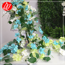 150460 new products on china market cheap artificial hydrangea wedding silk petal garland