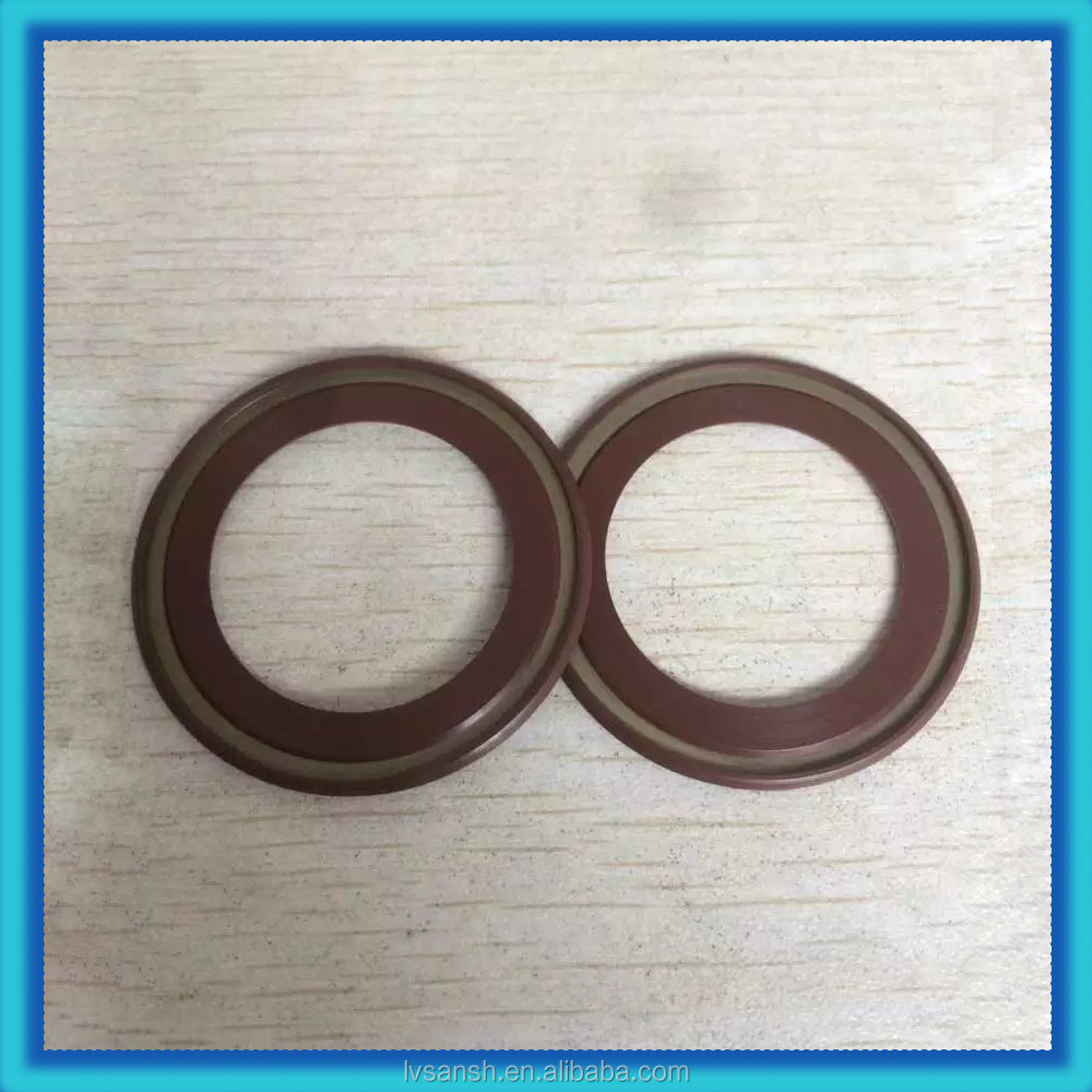 Automotive scraper bearing seal ring