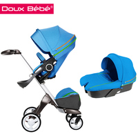 3-in-1 Travel System, High Landscape Baby Stroller/Pram
