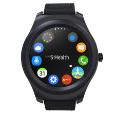 Newest smart watch Q2 MTK2502 full round screen bluetooth 4.0 with heart rate monitor/pedometer for Android & IOS mobile phone