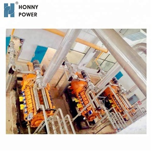 Honny Power 600kW Natural Gas Power Plant