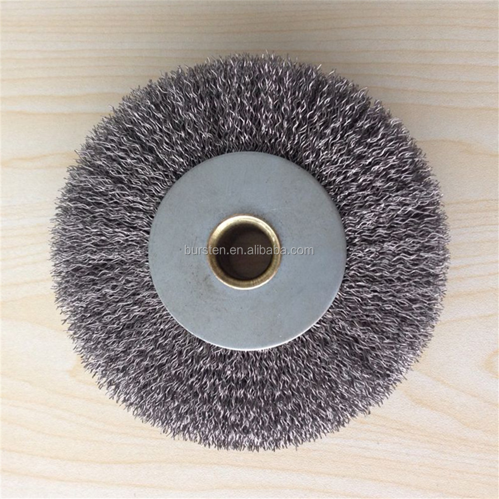 round circular stainless steel wire brushes