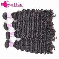 Real virgin human hair weaving from reliable supplier indian human hair india