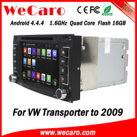 Wecaro WC-VU7006 Android 4.4.4 car dvd player quad core for vw transporter t5 car dvd cd player stereo tv tuner