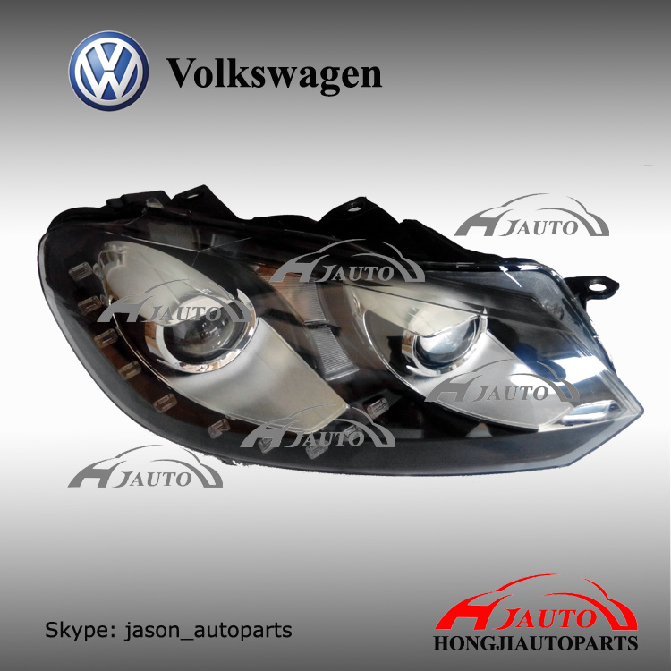 vw golf mk6 led head light, vw golf 6 led head lamp