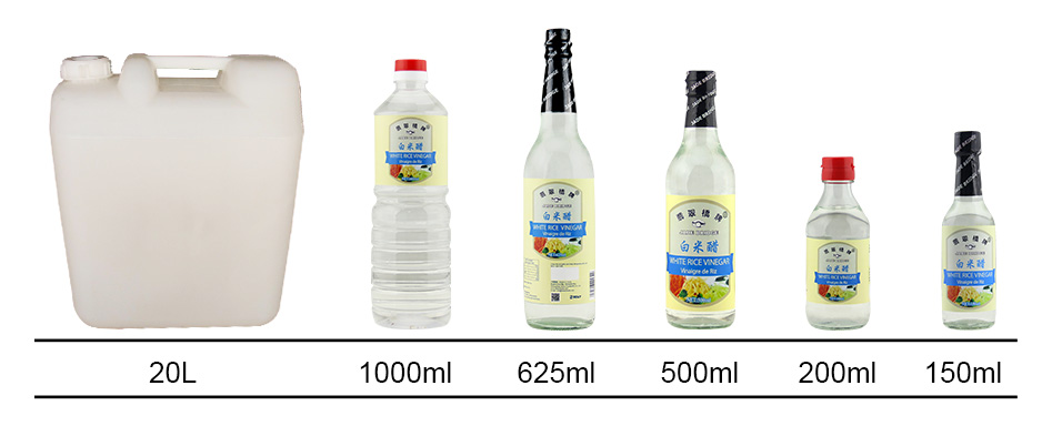 white rice vinegar , naturally brewed 150ml