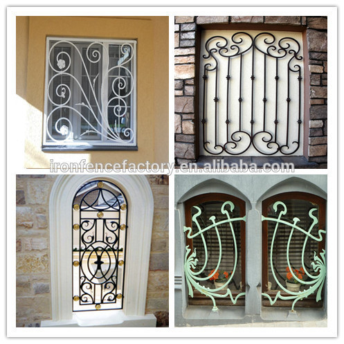 2016 factory direct price latest simple modern iron window for 2016 window design