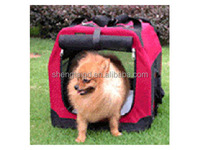 Soft Portable Dog Carrier/Pet Travel Bag/pet carrier dog carrier