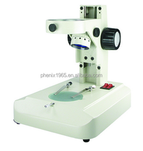 adjustable stereo microscope fan type base with led illumination