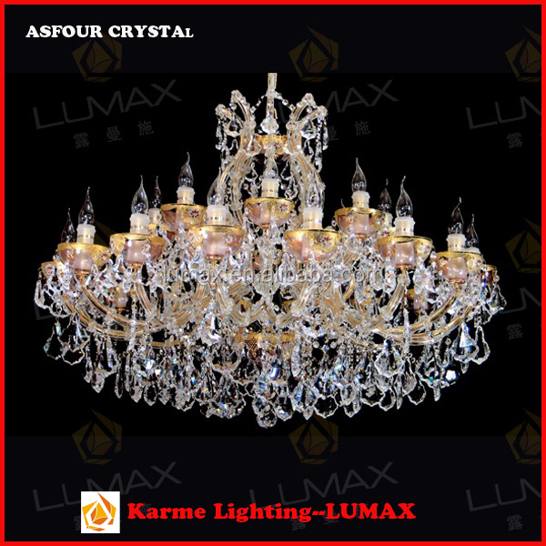 High quality classic European banquet crystal chandelier hall light pendant light