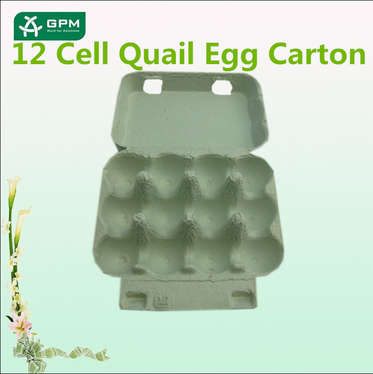 High Quality Custom Paper Pulp Quail Egg Boxes