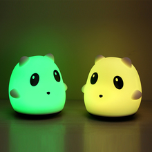 Tap Control Warm Nighttime Soft Silicone Children Toddler Boys Girls led nightlight