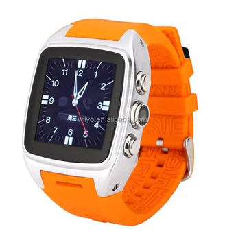 WCDMA Bluetooth Watch Android 4.4 5.0MP Waterproof Mobile Phone Watch