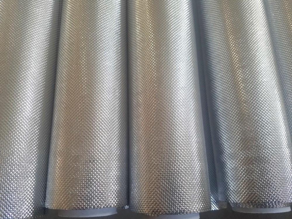 Silver White or Black Color Reflective Mylar aluminum metalized PET ...