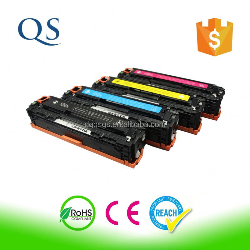 Compatible Color Toner Cartridge CF210A for use in HP Laserjet Pro 200 /color M251nw/color M251n/color MFP M276n/M276 nw