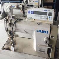 The lowest price used juki single needle 8700 series lockstitch industrial sewing machine