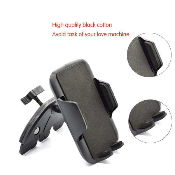 Universal Car Air Vent Grip Mount Cell Mobile Smart Phone GPS Holder Portable car air vent mount holder for mobile phones