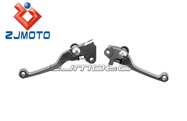 Motorcycle Dirt bike 3finger Pivot Brake and Clutch Lever Set for YZ250F 2007-2008