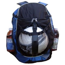 SP0017 Fashionable Polyester and Nylon Sport Bag with Ball Holder