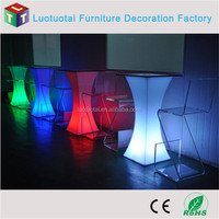 multi color changing LED glowing furniture/bar furniture/bar table