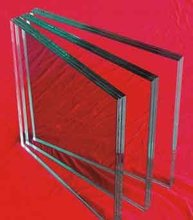 transparent laminated glass
