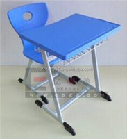 School Furniture School Single Desk and Chair with Competitive Price
