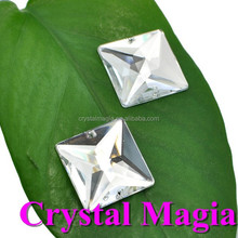 high quality acrylic sew on austrian crystal rhinestones acrylic crystal