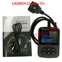 OBD 2 Code Scanner 100% Original Launch Creader VI+ / Creader 6+ Update Online with Free Shipping