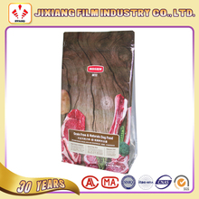 Animal Feed Packaging Bag-Custom Printed Side Gusset Pet Food Flat Bottom Plastic Bags With Ziplock