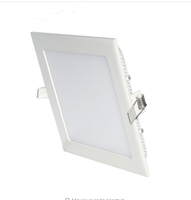 3W 6W 9W 12W 15W 18W LED downlight Square LED panel down lights for living room dinning room bedroom