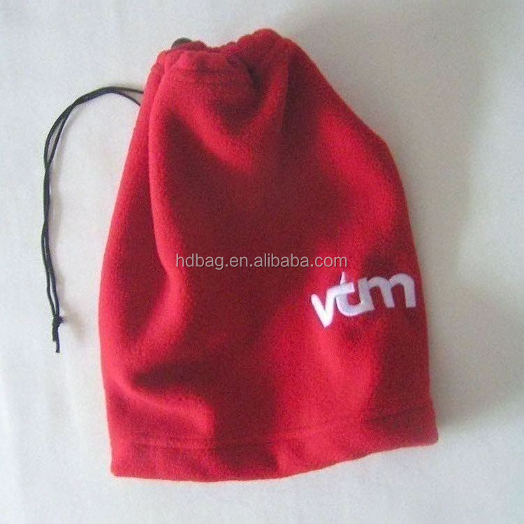 hot sell customized red winter warm ski embroider logo polar fleece hat