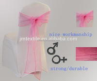 Wholesale Fashionable Organza Wedding Chair Cover Sashes