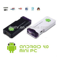 NEW IPTV Box MK802 1.5GHz Mini PC Android 4.0, TV Box Android Box