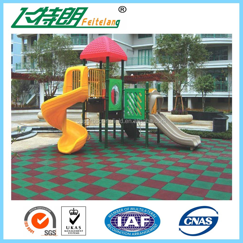 athletic Outdoor Anti-slip Safety Rubber Flooring Mat/tile/sheet